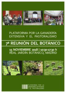 VII Reunión del Botánico