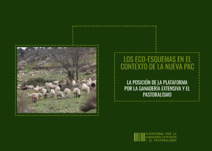 Eco-esquemas para la ganadería extensiva